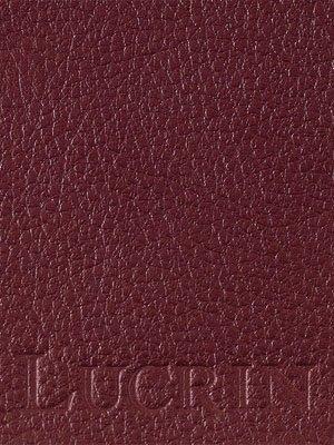 Lucrin - Kleiner Geldbeutel - Weinrot - Leder genarbt
