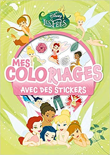 Amazon In Buy Fee Clochette Mes Coloriages Avec Stickers Book