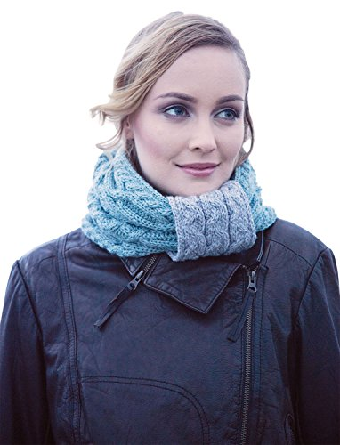 ladies-irish-two-tone-wool-snood-scarf