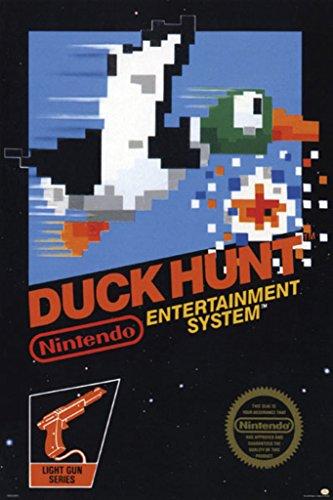 Pyramid America Duck Hunt Nintendo NES Light Gun Shooter Vid