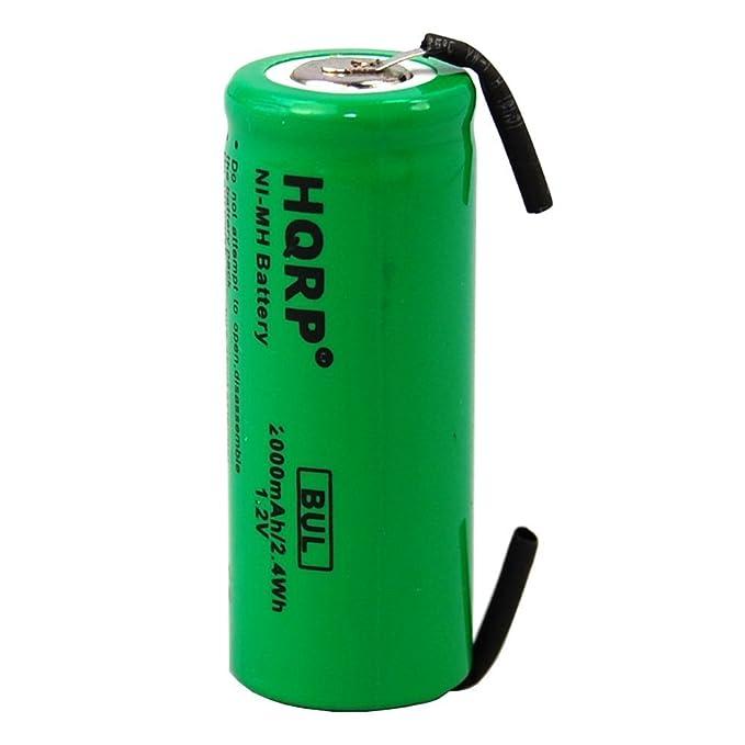 HQRP batería para Philips Sonicare HX1525 HX1520 HX2520 reparación de cepillo de dientes: Amazon.es: Electrónica