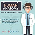 Human Anatomy: Medical School Crash Course Audiobook by  AudioLearn Medical Content Team Narrated by Kevin Charles