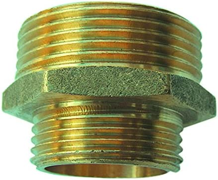Sirocco Reducing Double Nipple External Thread Brass 0.5 Inch with 05421432 0,75 Inch