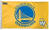 WinCraft NBA Golden State Warriors WCR41814014 Team Flag, 3' x 5'