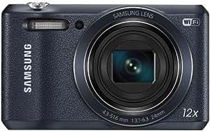"Samsung WB35F - Cámara compacta de 16.2 MP (pantalla de 2.7"", zoom óptico 12x, estabilizador), negro"