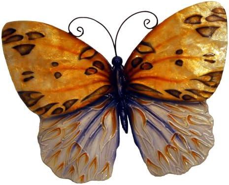 Eangee m712601 Wall Butterfly Honey Metal Art Piece