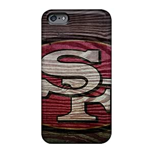 Shockproof Hard Phone Cover For Apple Iphone 6 (PBz10165xiMR) Support Personal Customs Colorful San Francisco 49ers Pattern