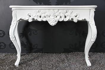 Casa padrino baroque console tableau blanc femmes de bureau