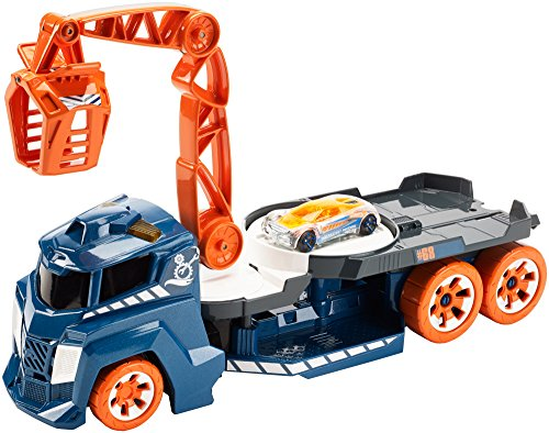 Hot Wheels Lights and Sounds Vehicle, Spinnin' Sound Crane