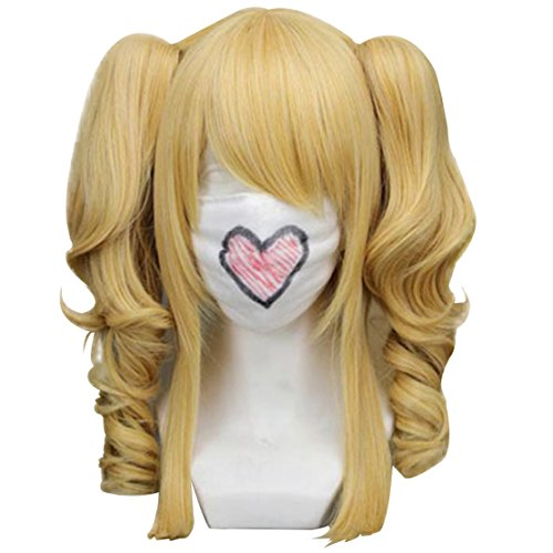 Anogol Blue Pink Fancy Dress Costume Wig Lolita Wigs (Misa Amane Cosplay Costume)