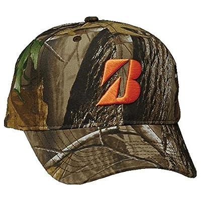 NEW Bridgestone RealTree Camo/Orange Adjustable Snapback Golf Hat/Cap from Bridgestone