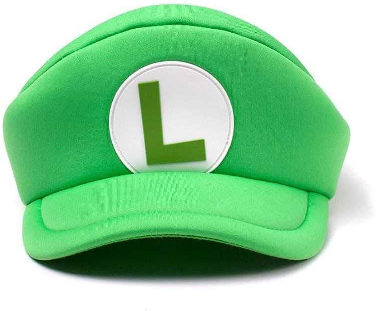 Bioworld EU Nintendo Super Mario Bros. Shaped Curved Bill Cap with ...