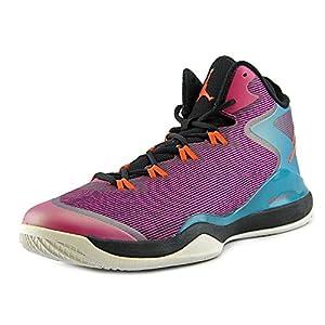 Nike Jordan Mens Jordan Super.Fly 3 Basketball Shoe (uk 9 us 10 EU 44, Fusion Pink/Electric Orange/Black/Tropical Teal)