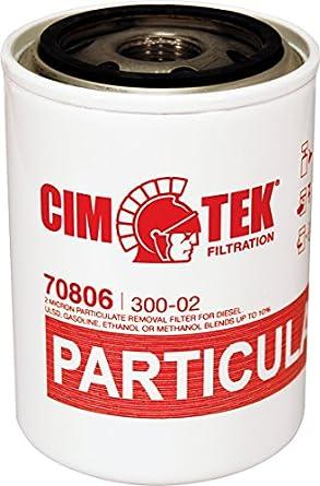 Cim-Tek 70806 2-Micron Particulate Fuel Dispenser Filter - CIM30002