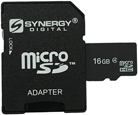 2 Pack Kyocera LUNO Cell Phone Memory Card 2 x 4GB microSDHC Memory Card with SD Adapter