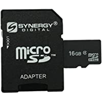 Samsung SGH-A727 Cell Phone Memory Card 16GB microSDHC Memory Card with SD Adapter
