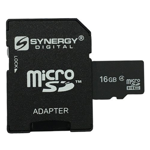 (LG LS670 Cell Phone Memory Card 16GB microSDHC Memory Card with SD Adapter)