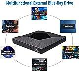 External 3D Blu Ray DVD Drive Burner, Wihool Ultra
