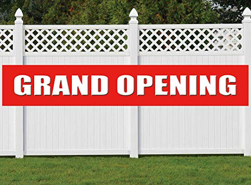 Nimab Grand Opening Banner, Store Restaurant Grocery Shop Advertising Business Start Large Sign