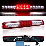 02 silverado brake lights - SPPC Red/Clear LED 3rd Brake Lights For Chevy Silverado : GMC Sierra