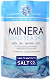 Dead Sea Salt Minera Natural Dead Sea Salt, 5lbs Bulk Bag - Fine Grain