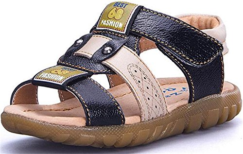 ppxid-boys-girls-leather-sandbeach-open-toe-outdoor-casual-sandal-black-75-us-toddler