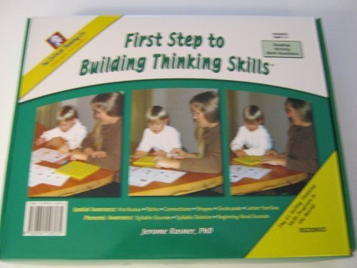 First Step to Building Thinking Skills (Ages 3-4)