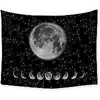 Symina Tapiz De Pared Tapiz De Fase Lunar