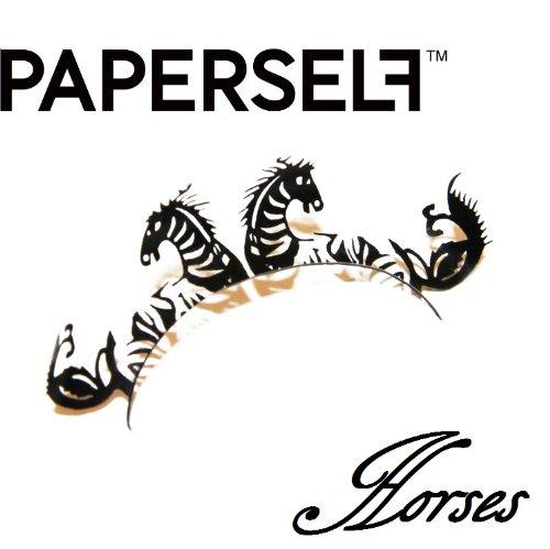 신감각 페이퍼 아이래시☆PAPERSELF[페이퍼 셀프] horses 【호스】 1페어