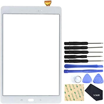 VEKIR Pantalla táctil de reparación de Vidrio para Samsung Galaxy Tab A 10.1 (2016) T580(Blanco): Amazon.es: Electrónica