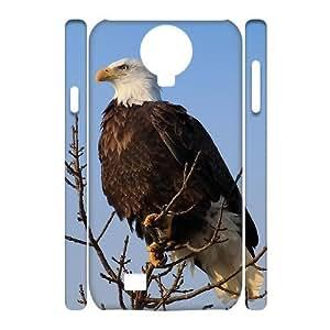 Bald Eagle Unique Design 3D Cover Case for SamSung Galaxy S4 I9500,custom cover case ygtg579329