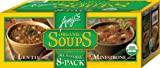 Amy's Organic Soups, 2 Flavor Variety Pack (Pack of 8)