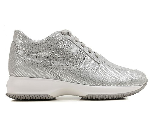 Hogan, Signore Sneaker Argento Nebbia