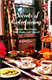 Secrets of Entertaining, Gail Greco, 0762708425