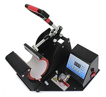 95103d6afff2e Maquina De Sublimacion Plancha Para Tazas Termos + 100 Hojas   Amazon.com.mx  Oficina y papelerÃa