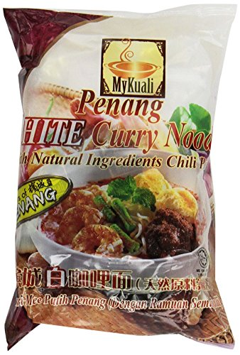 (MyKuali Penang White Curry Noodle (4 Packs))