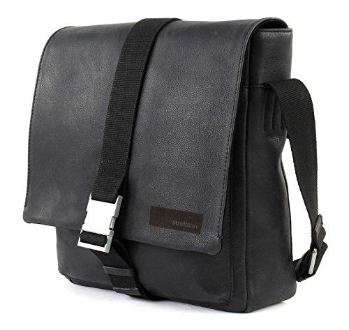 Strellson Leather Shoulder Black Goldhawk Cm Bag 30 rwtrqz5