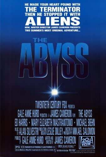 Amazon.com: Movie Posters 27 x 40 The Abyss: Prints: Posters & Prints