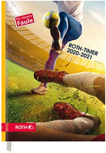ROTH Timer A5 für Clevere Faule Melon Kitty, 2020/2021 schwarz