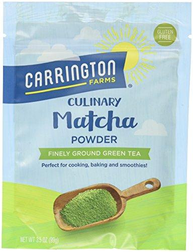 - Carrington Farms Matcha Tea Powder, 3.5 Ounce