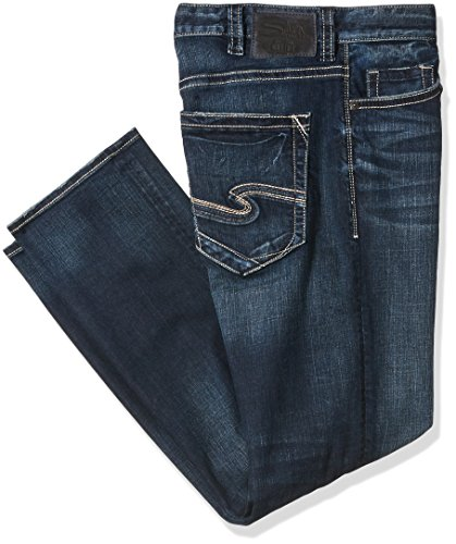 Silver Jeans Co. Men's Big and Tall Eddie Relaxed Fit Tapere
