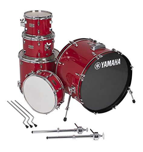Yamaha Rydeen 5pc Shell Pack with 22″ Bass Drum, Hot Red
