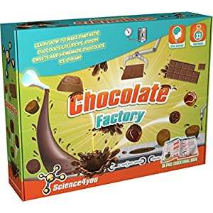 Science4you Chocolate Factory Kit Science Experiment