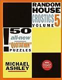 Random House Crostics, Volume 5 (Other)