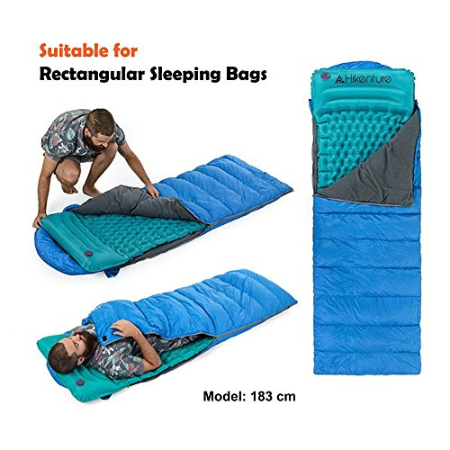 Lightweight Sleeping Pad By Hikenture Inflatable Camping