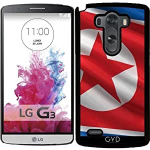 Funda para LG G3 - Bandera De Corea Del Norte by Carsten Reisinger