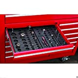 6 Piece Socket Drawer Organizers for up to 195 sockets! Worldwide Shipping!