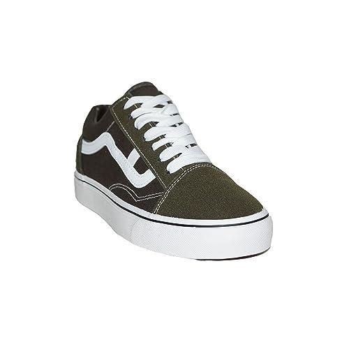 PRIMAR SHOES - Zapatillas Lona Style Vans-Elegant 065 Zapatillas Lona Tipo Vans Elegant Moda Classic Urbanas Mujer Hombre Negro Verde Granate: Amazon.es: ...