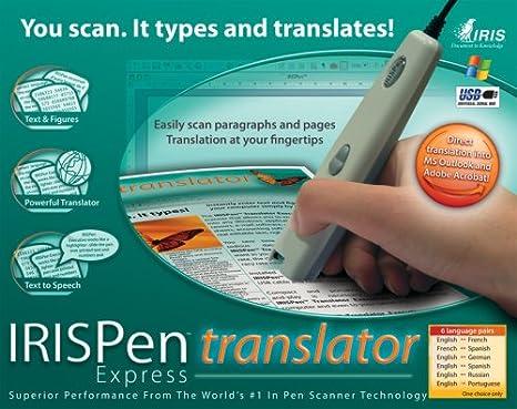 IRISPen Translator (Express Edition) (PC): Amazon co uk