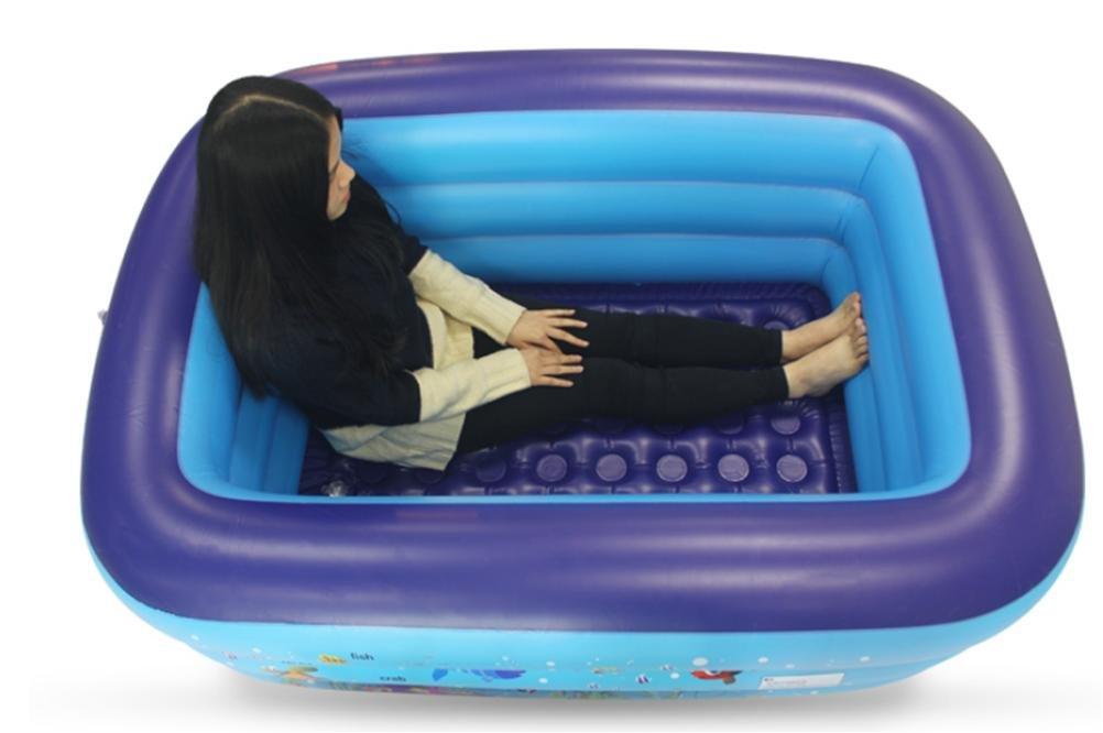 FACAI888 Tubo da bagno gonfiabile pieghevole adulto per uso domestico caldo aike